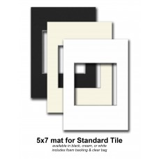 5x7 for standard tile *Clearance*