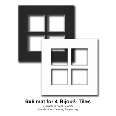 6x6 for 4 Bijou(R) tiles *Clearance*